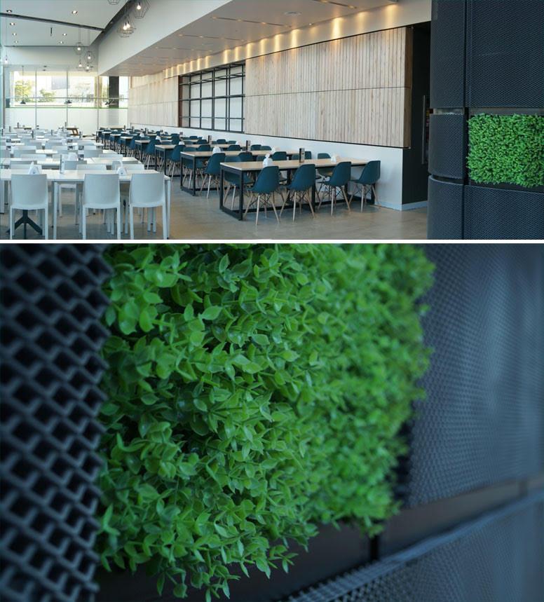 Muro Verde Artificial Boxus Arrayan Verde