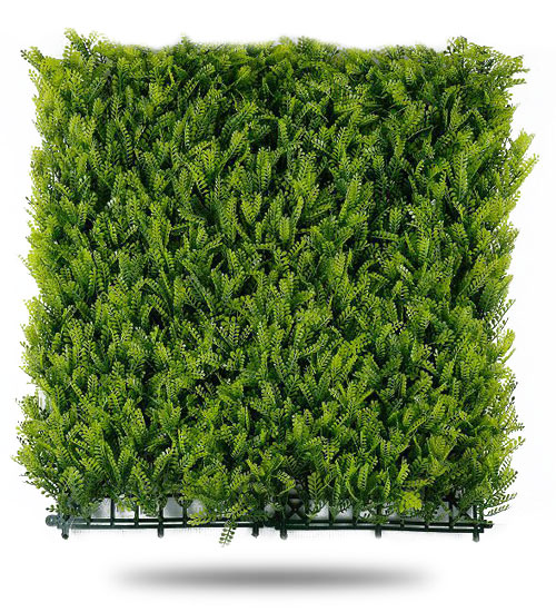Muro Verde Artificial Follaje Helecho Persa