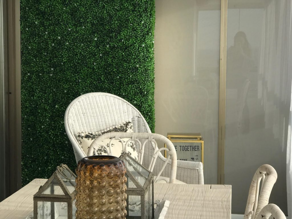 Muros verdes artificiales en guadalajara